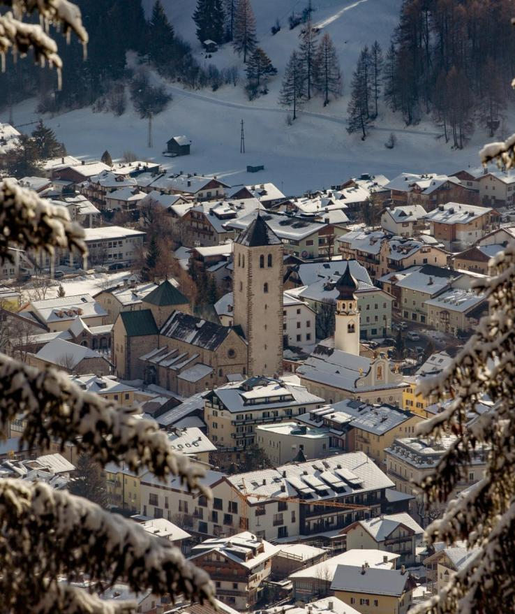 San Candido in inverno